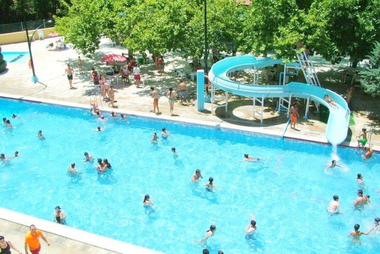 Hotel Río Piscina para niños toboganes