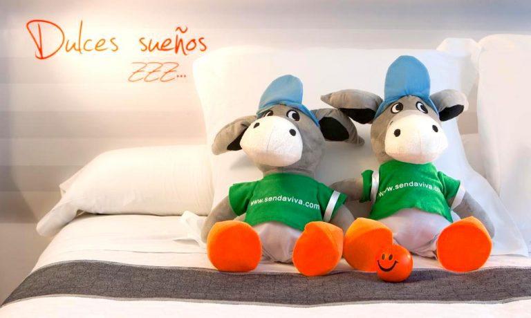Hotel bed4U elVilla Castejón para niños habitación