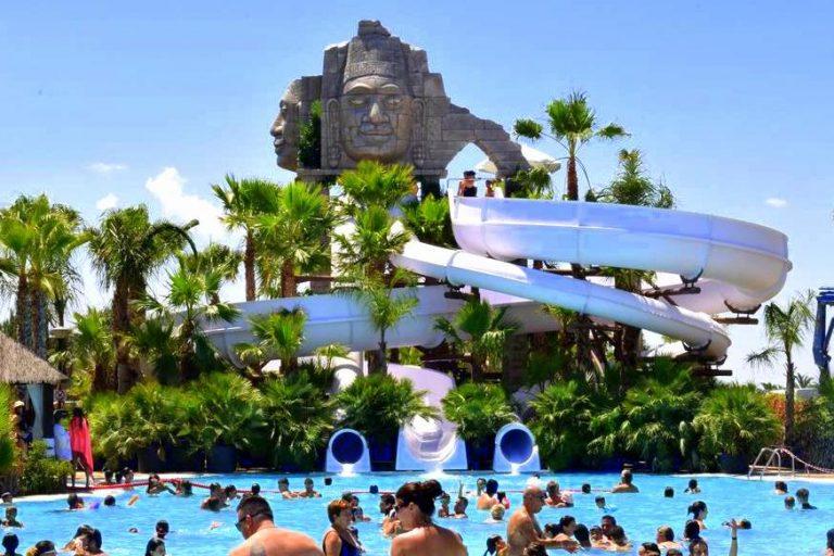 Marjal Costa Blanca Resort Hotel para niños piscina con toboganes