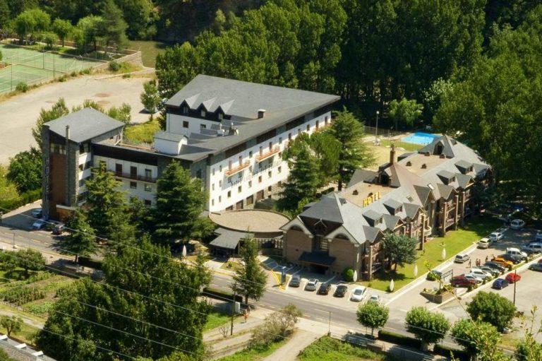 RVHotels Condes del Pallars Hotel para niños vistas