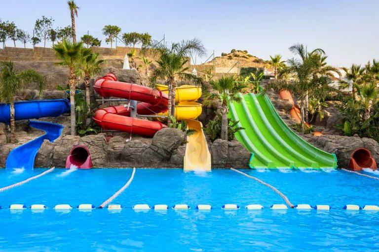 Globales Los Patos Park Hotel para niños toboganes