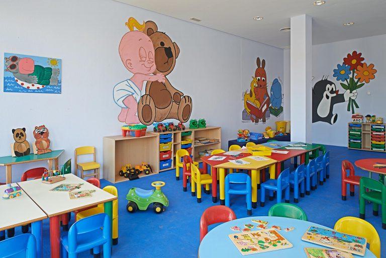 Hipotels Barrosa Garden hotel para niños mini club