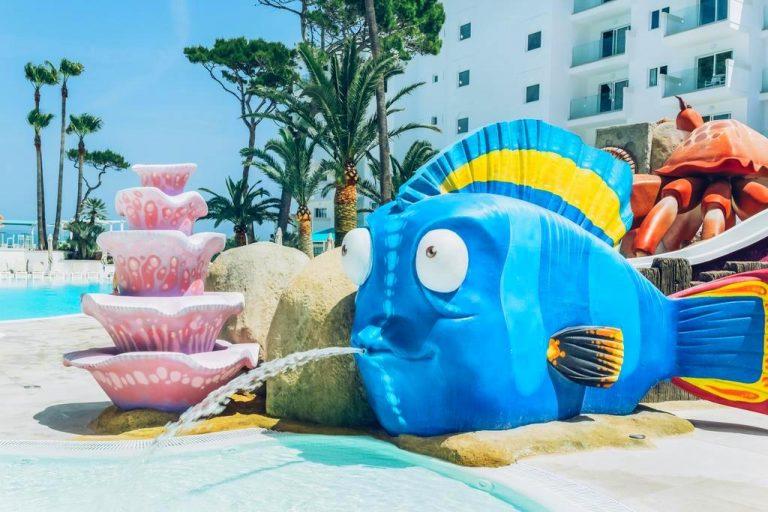 Iberostar Alcudia Park hotel para niños toboganes