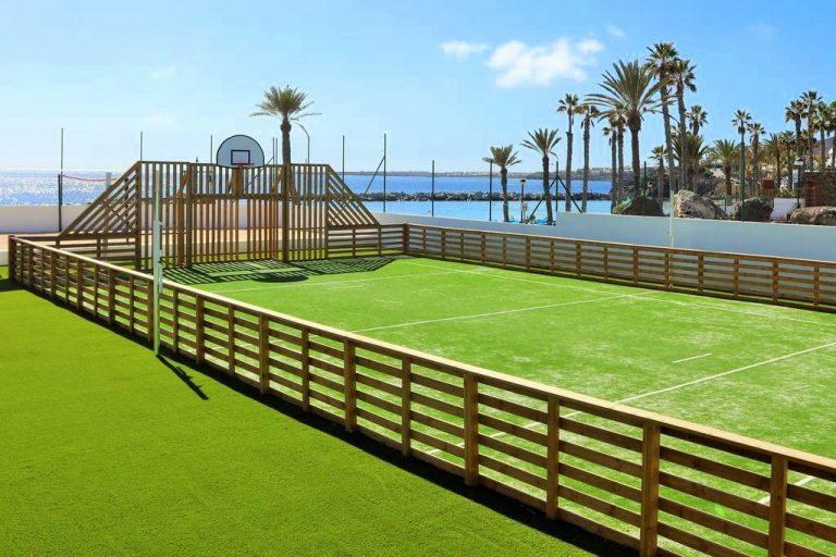 Iberostar Lanzarote Park hotel para niños baloncesto