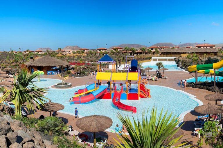 Pierre & Vacances Village Fuerteventura OrigoMare resort para ninos con toboganes en fuerteventura