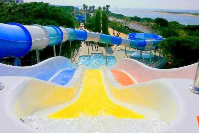 Playacartaya Aquapark & Spa Hotel para ninos con toboganes