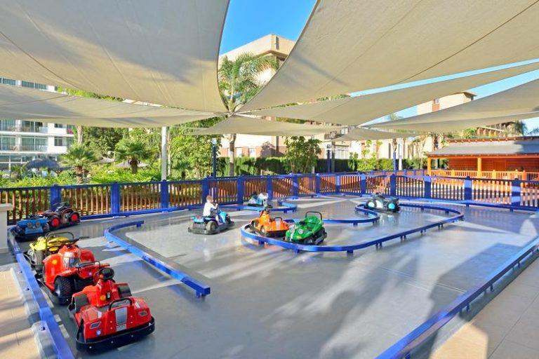 Sol Principe Hotel para niños juegos