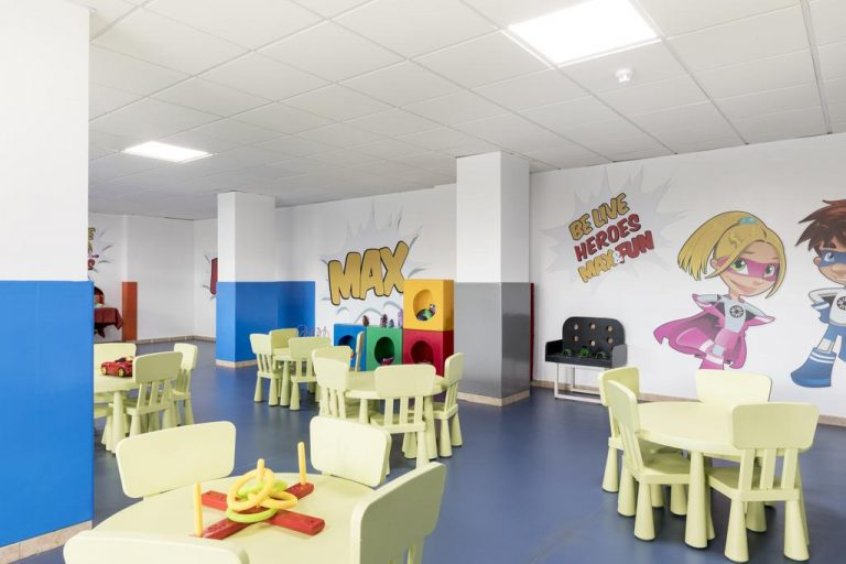 Be Live Experience La Niña mini club instalaciones infantiles