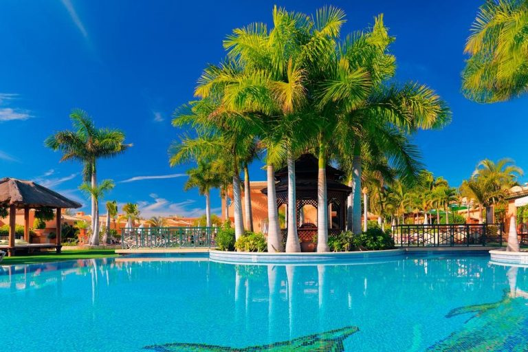 Green Garden Resort hotel para niños en Tenerife
