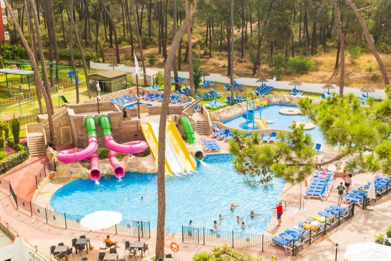 Hotel Roc Marbella Park toboganes